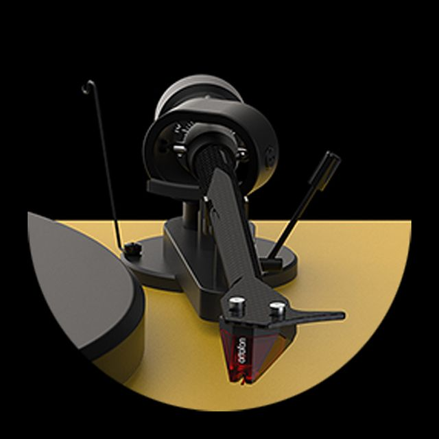 Debut Carbon EVO Project Audio  Debut Carbon EVO features the proven 8,6'' one piece Carbon tonearm design